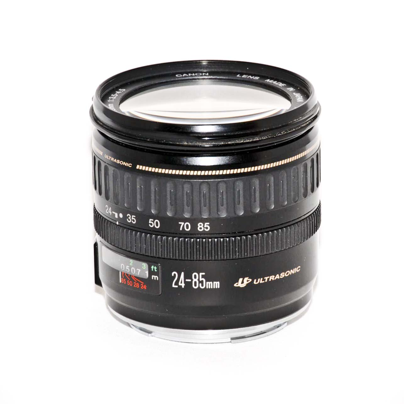 Canon EF 24-85mm f3.5-4.5 USM Lens 24-85/3.5-4.5 Silver   eBay