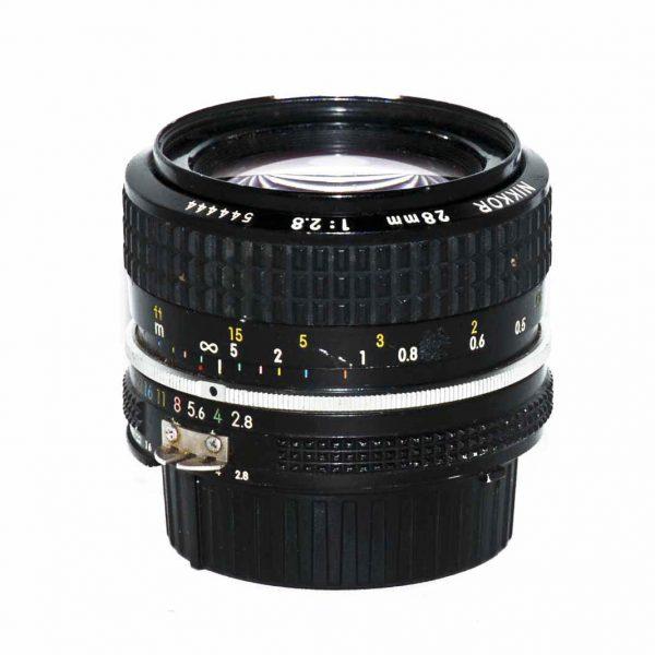 Nikkor 28mm f2 8 AIS Lens